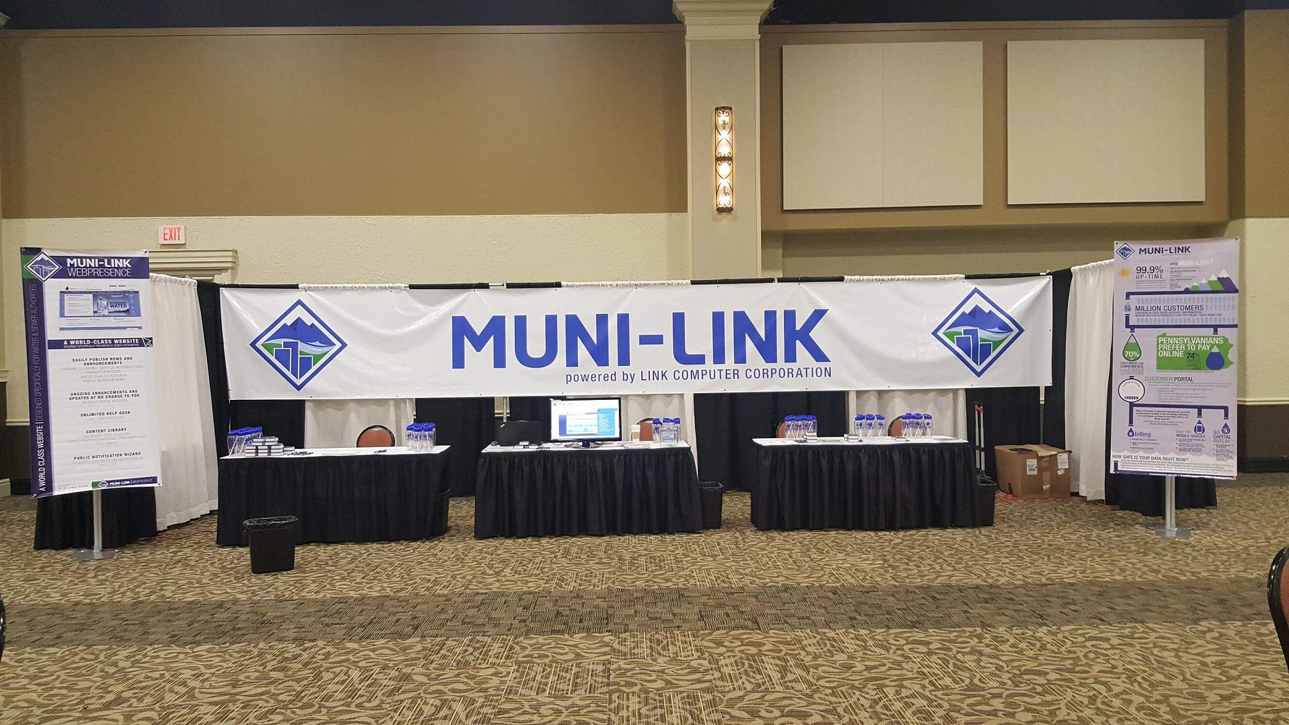 Muni-Link PMAA Conference Booth 2017